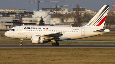 F-GUGQ - Airbus A318-111 - Air France