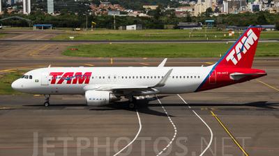PR-MYZ - Airbus A320-214 - TAM Linhas Aéreas
