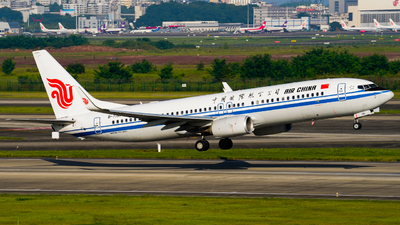 A picture of B7181 - Boeing 73789L - Air China - © ZUCKGYQ
