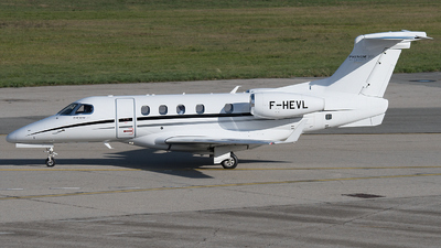A picture of FHEVL - Embraer Phenom 300 - [50500312] - © Gianluca Mantellini