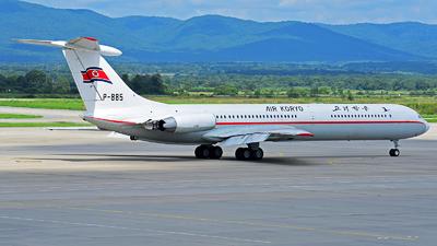 A picture of P885 - Ilyushin Il62M - Air Koryo - © jeff SU