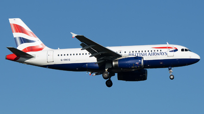 A picture of GDBCG - Airbus A319131 - British Airways - © Stefan Bayer
