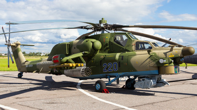 RF-13624 - Mil Mi-28N Havoc - Russia - Air Force