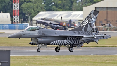 FA-70 - General Dynamics F-16AM Fighting Falcon - Belgium - Air Force