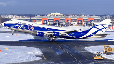 VQ-BWW - Boeing 747-406ERF - Air Bridge Cargo