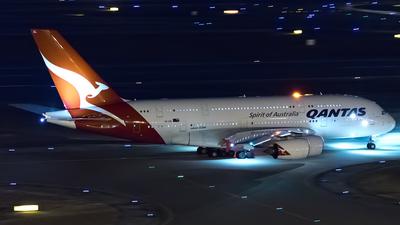 VH-OQL - Airbus A380-842 - Qantas