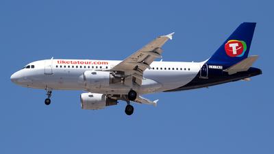 LY-TKT - Airbus A319-112 - Tiketa Tour (Avion Express)