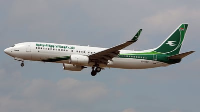 YI-AST - Boeing 737-81Z - Iraqi Airways