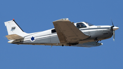 346 - Beechcraft A36 Chofit - Israel - Air Force