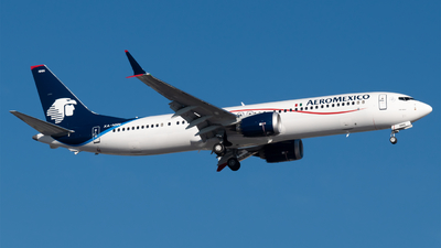 XA-NNN - Boeing 737-9 MAX - Aeromexico