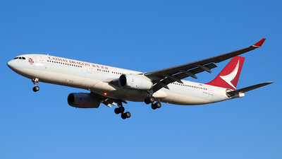A picture of BHLK - Airbus A330342 - Cathay Dragon - © Jerry Huan