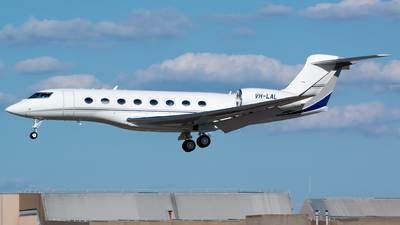 VH-LAL - Gulfstream G650ER - Private