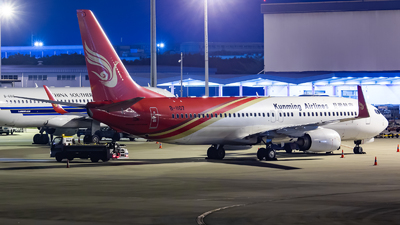B-1107 - Boeing 737-8LY - Kunming Airlines