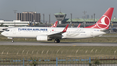 TC-JZG - Boeing 737-8F2 - Turkish Airlines