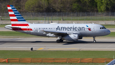 A picture of N837AW - Airbus A319132 - American Airlines - © Jeremy D. Dando
