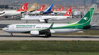 YI-ASW - Boeing 737-81Z - Iraqi Airways