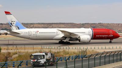 LN-LNJ - Boeing 787-9 Dreamliner - Norwegian