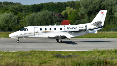 TC-KAV - Cessna 560XL Citation XLS - Private