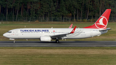 TC-JVZ - Boeing 737-8F2 - Turkish Airlines