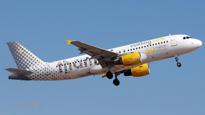 EC-JZQ - Airbus A320-214 - Vueling Airlines
