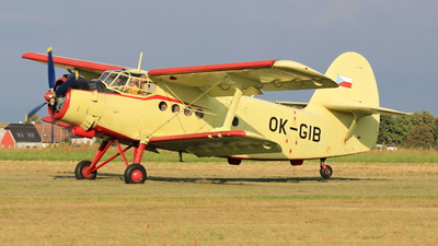 OK-GIB - PZL-Mielec An-2 - Aero Club - Czech Republic