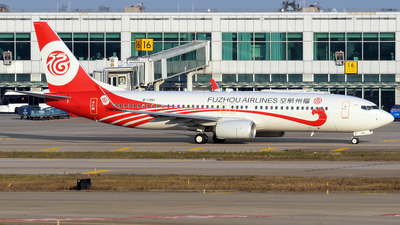 B-1351 - Boeing 737-8AL - Fuzhou Airlines