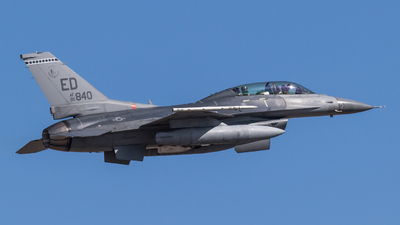 90-0840 - Lockheed Martin F-16D Fighting Falcon - United States - US Air Force (USAF)