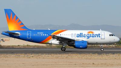 A picture of N312NV - Airbus A319111 - Allegiant Air - © Jason Whitebird