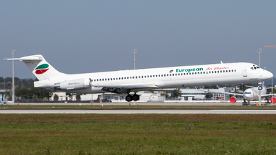 LZ-LDN - McDonnell Douglas MD-82 - European Air Charter (EAC)