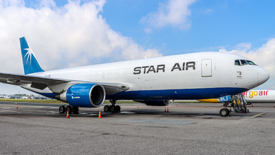 OY-SRL - Boeing 767-232(BDSF) - Star Air