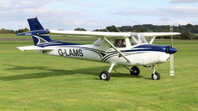 G-LAMS - Reims-Cessna F152 - Private