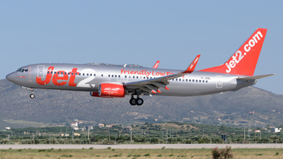 A picture of GJZBL - Boeing 7378MG - Jet2 - © George Chaidaris