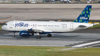 N597JB - Airbus A320-232 - jetBlue Airways