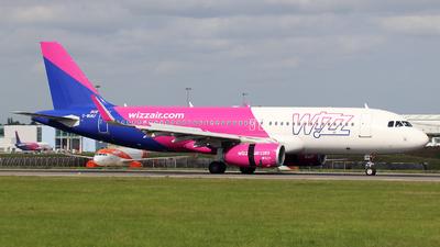 G-WUKF - Airbus A320-232 - Wizz Air UK