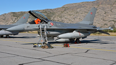 E-004 - General Dynamics F-16AM Fighting Falcon - Denmark - Air Force