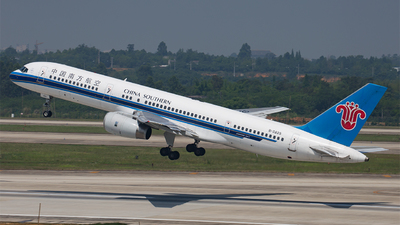 B-2825 - Boeing 757-21B - China Southern Airlines