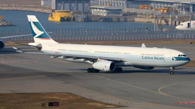 B-LBI - Airbus A330-343 - Cathay Pacific Airways
