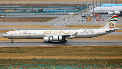 A6-EHK - Airbus A340-642 - Etihad Airways
