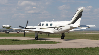 A picture of CGECD - Piper PA31T2 Cheyenne II - [31T8166044] - © Mike MacKinnon