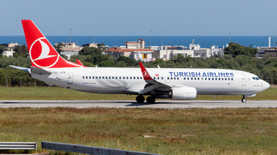 TC-JVS - Boeing 737-8F2 - Turkish Airlines