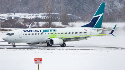 A picture of CGWSA - Boeing 7378CT - WestJet - © Grant Gladych