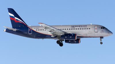 A picture of RA89022 - Sukhoi Superjet 10095B - Aeroflot - © SN7756