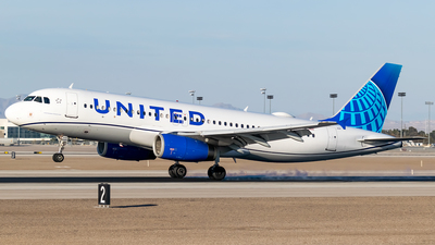 N487UA - Airbus A320-232 - United Airlines