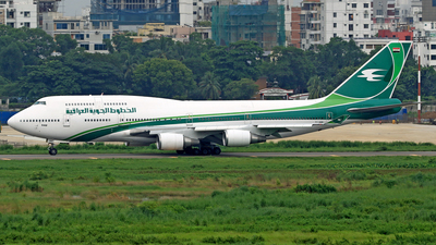 YI-AQQ - Boeing 747-446 - Iraqi Airways