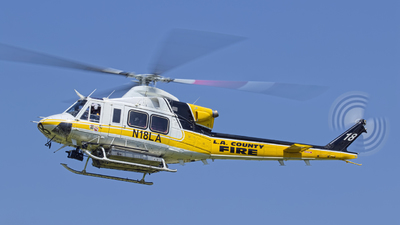 N18LA - Bell 412 - United States - Los Angeles County Fire Department