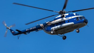 RA-06105 - Mil Mi-8T Hip - Gazpromavia