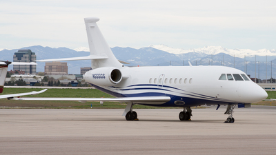 N555GS - Dassault Falcon 2000 - Wheels Up