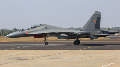 SB207 - Sukhoi Su-30MK3 - India - Air Force