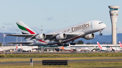 A6-EEP - Airbus A380-861 - Emirates