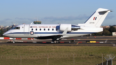 A37-001 - Bombardier CL-600-2B16 Challenger 604 - Australia - Royal Australian Air Force (RAAF)